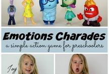 Teaching Emotions & Empathy / Crafts, Activities, Lessons, and more that help establish good social skills while teaching emotions and empathy to early learners in preschool and kindergarten.