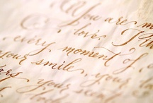 The Art of Penmanship / by Pictrix