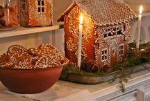 Gingerbread ~ Houses, etc / by Shannon Petaja