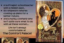 Books by Jacquie Rogers / Covers of my romance novels and non-fiction books.