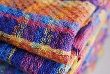 Handwoven Towels / Beautiful handwoven towels that are bound to impress any dinner guest!