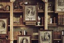 Bookshelves / by Pictrix