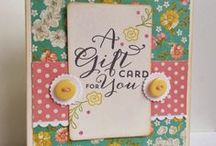 Cards...Gift card/money holders