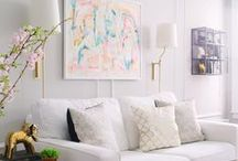 Living Room Spaces / by Chelsea Clair