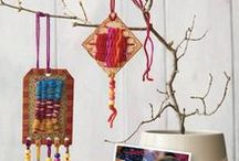 Weaving for Kids / What to introduce your kiddos to the craft of weaving? We have kid-friendly projects that are easy to DIY.