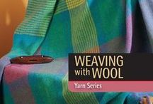 Weaving Wool / Create pretty cold-weather weaving projects by utilizing cozy wool! This board is a collection of our woven projects featuring wool.