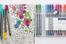 Coloring..Not Just For Kids / Relax and Color the day's stress away