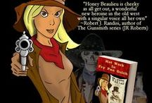 Honey Beaulieu - Man Hunter / A wacky western series with a little romance, a lot of humor, and an obnoxious ghost, by Jacquie Rogers