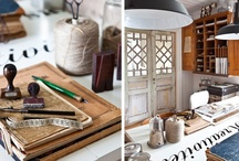 Work Spaces at Home / craft rooms, sewing rooms, creative areas