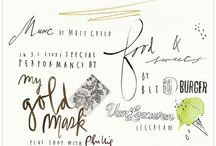 Typography and Illustrations. / by Katelyn Hensley