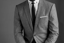 〘 SUITED & BOOTED 〙 / suits and other traditional menswear, worn by men.