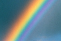 rainbows  / a rainbow always has a little magic .....