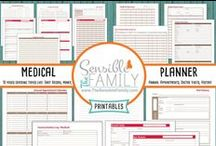 Organization / Stay organized with these great printables.
