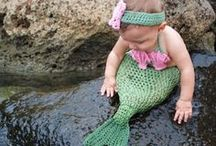 Mermaids and Others from the Sea / Mermaids and all sea related objects,real and mythical.