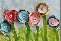 Preschool Art Activities / by Ginger Hyde