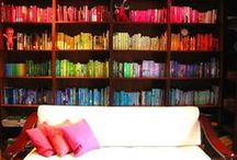 """""""A room without books is like a body without a soul.""""  / by Michele K"""