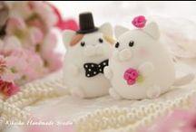 cat wedding stuff <3
