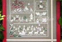 borduren kerst