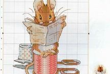 borduren Beatrix Potter