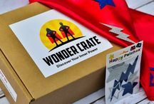 Wonder Crate / A monthly subscription box for kids ages 5-8. Life skills delivered to your door!