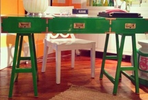 Pantone's Emerald Green at High Point Market / Pantone's new color for 2013 was a hot choice at the October High Point Market! #hpmkt