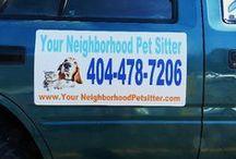 ATLANTA NEIGHBORHOOD PET SITTERS / Atlanta Neighborhood Pet Sitters offers Pet Sitting, Dog and Cat care, Daily dog walks and exercising Sandy Springs 30350, Georgia and Greater Atlanta area. Perimeter Mall, Alpharetta, 30009, 30022, 30023, 30062, Marietta,  Norcross, 30071, 30091, 30092, 30003, 30010, Roswell, 30075, 30076, 30077 Sandy Springs Dunwoody 30338, 30328 / by Buy Rare Stuff