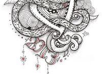 Swirls Twirls Curls / by KathleenWagnerSciola