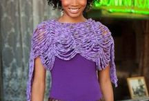 Crochet Tops Shawls and Capes / by Lilac Moon Wicked Gifts
