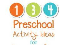 Preschool / Preschool activities, games, ideas and resources.