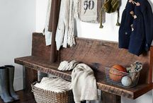 Mudroom project inspiration! / by Marissa Garrison