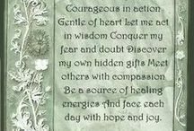 Spells Blessings Prayers / by Lilac Moon Wicked Gifts
