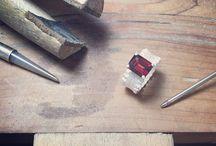 bespoke / custom jewellery projects by Rebecca Little Jewellery