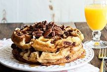 Waffle Recipes / Sweet and savory waffle recipes to put your waffle iron to good use!