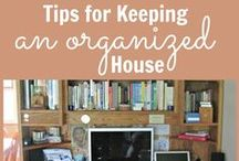 Organize & Declutter / Tips for organizing and decluttering the home, office, diaper bag, blog, and more!