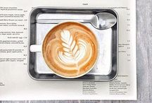 "Cappuccino / ""I am a coffee fanatic. Once you go to proper coffee, you can't go back. You cannot go back."" Hugh Laurie"