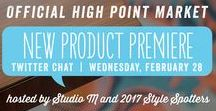 Twitter Chat Preview - High Point Market - Spring 2018 / Our Style Spotters have reviewed hundreds of new products, set to launch at Spring Market. Now, you can preview their must-see new looks during our legendary Twitter Chat. Join us, and start making your short list of showrooms you simply can't miss. Just follow #HPMKT on Twitter at 6pm ET, Wednesday, February 28, 2018.