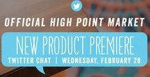 Twitter Chat Preview Picks - High Point Market - Spring 2018 / Our Style Spotters have reviewed hundreds of new products, set to launch at Spring Market. Now, you can preview their must-see new looks during our legendary Twitter Chat. Join us, and start making your short list of showrooms you simply can't miss. Just follow #HPMKT on Twitter at 6pm ET, Wednesday, February 28, 2018.