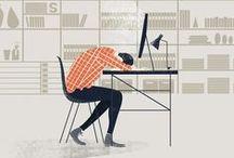 illustration / People that make great visual things. / by Bram van Rijen