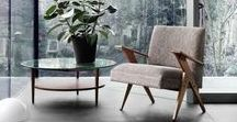 Mid-Century Style / clean lines, mod design, mcm furniture, homes & interiors