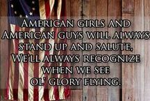 'merica! & the Great Lakes / God Bless the USA. And Michigan; she's a lady.