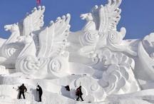 Artsy Ice Sculptures