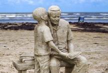 Artsy Sand Sculptures