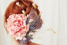 Wedding Hairstyles / Ideas on how to wear your hair on your wedding day. Including hair accessories and jewellery