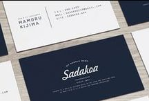 Business Cards / Beautiful, unique business cards with an emphasis on branding.
