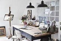Studio / Decorating and exterior ideas for my home studio for Knots & Kisses Stationery