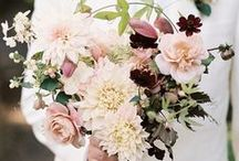 Wedding Themes Burgundy & Blush / Gorgeous Autumnal or Winter ideas for a wedding in a palette of Burgundy, Blush and Forest Green