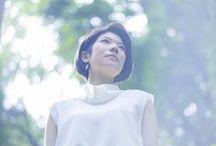 Portraits by Teppei Kono / 写真家 河野鉄平氏による、小澤紗来の写真