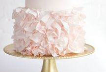 Wedding Themes Ruffles / The modern way to do ruffles at your wedding - lots of frothy fabric but a pared back and elegant scheme