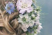 ❤ Wedding hair style / La coiffure de la mariée. Un de mes grandes lubies.  • Bridal hairdos. One of my biggest fads !