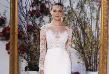 Anne Barge / Classic wedding dresses with unique design and preppy elegance, couture wedding dresses by designer Anne Barge are available at Alta Moda Bridal in Salt Lake City.